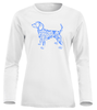 Dog art LS paita Lady