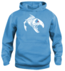 Fight Fish huppari hoody.Asennepaita