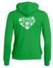 Huppari Big Heart Basic full zip