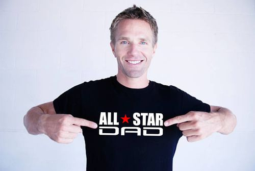 ALL STAR DAD T-shirt.Asennepaita
