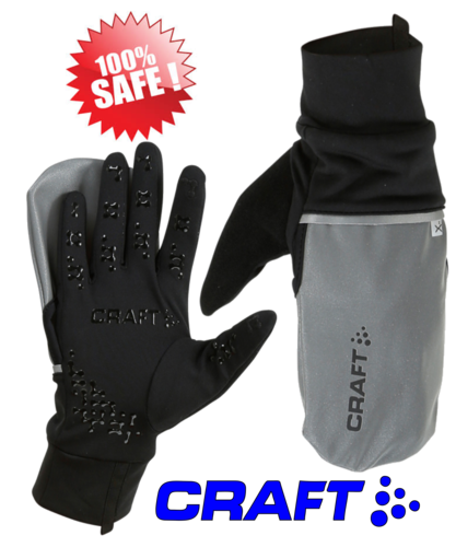 Craft Reflective Hybrid Weather glove
