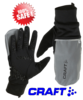 Craft Reflective Hybrid Weather glove heijastava